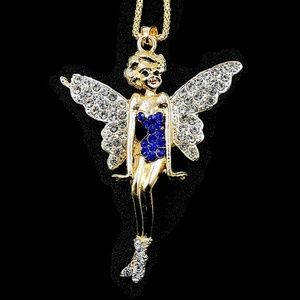 Fairy Rhinestone Pendant NWT-